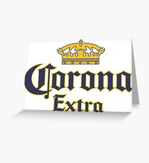 Corona Extra Greeting Card