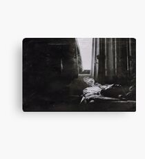 the sick rose Canvas Print