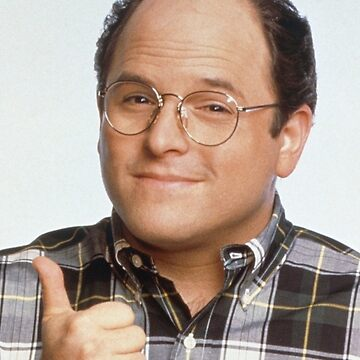 George Costanza Tee  by SnowBallThePig