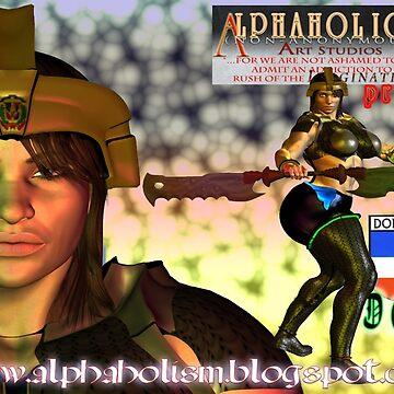 The Dominican Republic Defender! by alphaartstudios