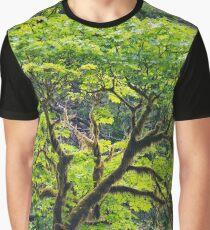 Oregon Vine Maple - Spring Leaves Graphic T-Shirt