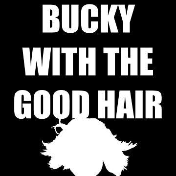 BUCKY WITH THE GOOD HAIR - Bucky Barnes by studioshrug