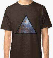 Blue Galaxy Triangle Classic T-Shirt