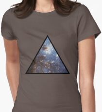 Blue Galaxy Triangle T-Shirt