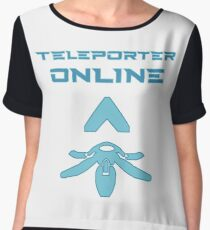Teleporter online Chiffon Top