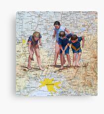 Finding Melbourne Canvas Print