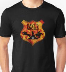 Davy's Angels Badge Unisex T-Shirt