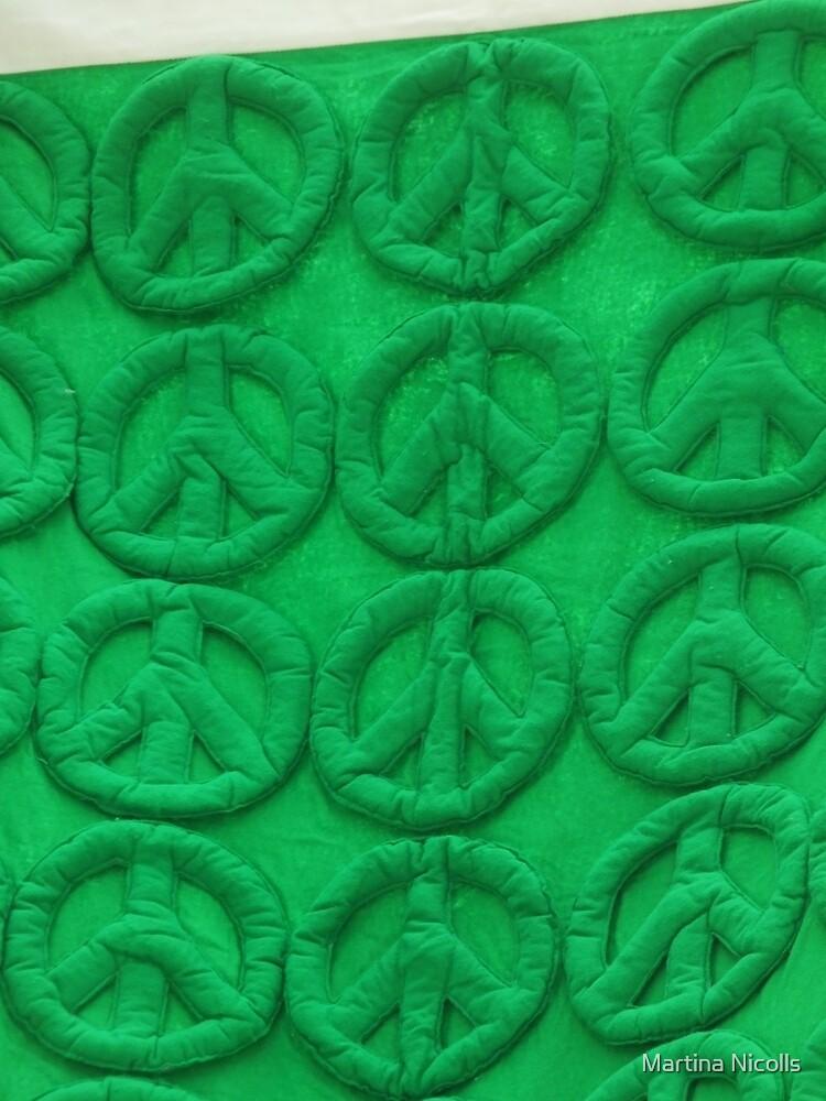 Green peace by Martina Nicolls
