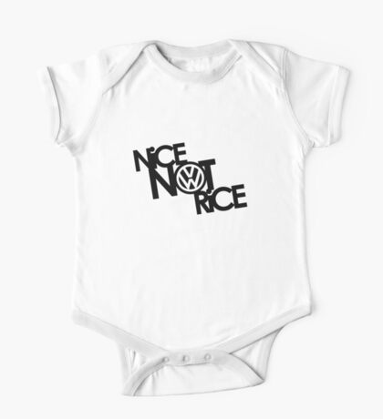 Nice Not Rice - VW Kids Clothes
