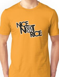 Nice Not Rice - VW Unisex T-Shirt