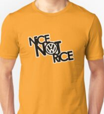 Nice Not Rice - VW Unisex T-Shirt