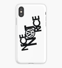 Nice Not Rice - VW iPhone Case/Skin