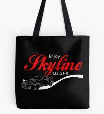 Enjoy Skyline R33 GT-R Tote Bag