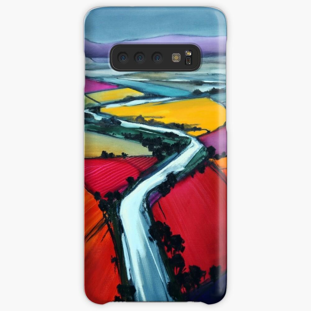Stromaufwärts Hülle & Klebefolie für Samsung Galaxy