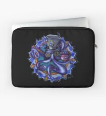 Steampunk Octopus Tentacle Tea Party Laptop Sleeve