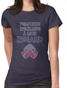 Personne n'échappe à mon regard Womens Fitted T-Shirt