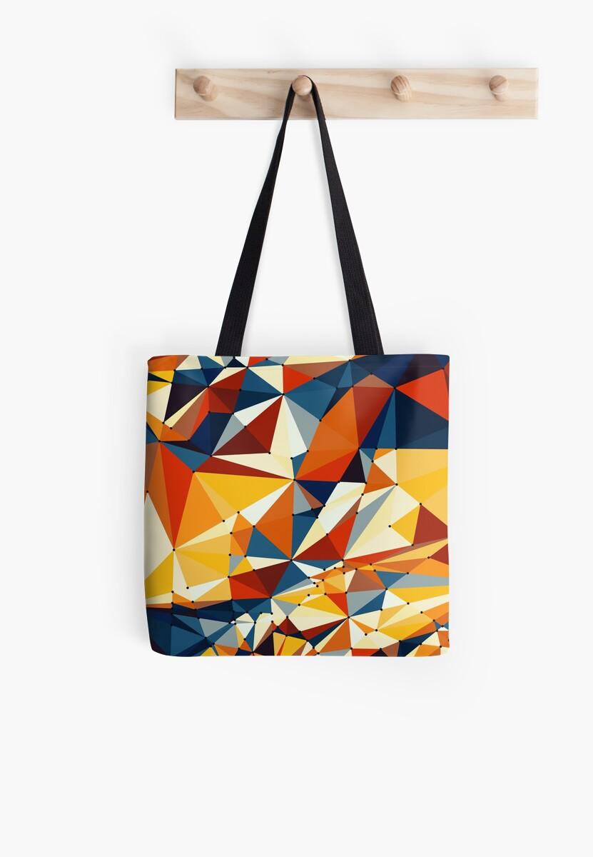 Net of multicolored triangles von pASob-dESIGN