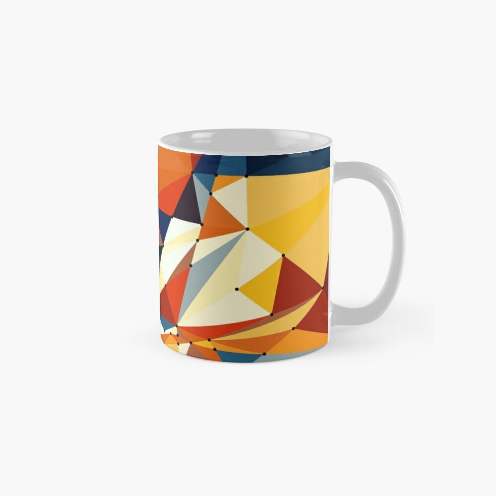 Net of multicolored triangles Tasse
