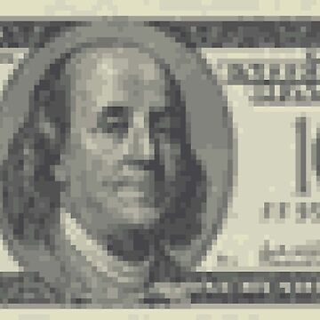 8bit Benjamin (100 Dollar Note) by Exilant