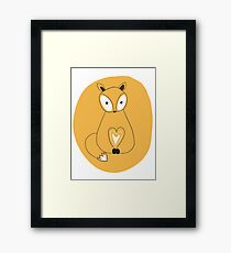The Little Fox ! Framed Print
