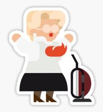 Mrs Doubtfire Sticker