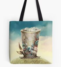 Hat for Dreaming, Wonderland Tote Bag