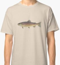 Brown Trout (Salmo trutta) Classic T-Shirt