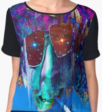 Voyage of Discovery Chiffon Top