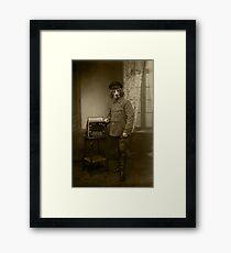 Old War Dog Framed Print