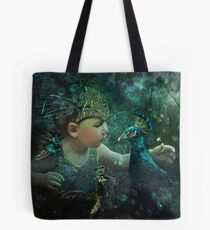 Guardian of the Forest: 100 Eyes Tote Bag