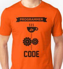 Programmer - Love Coffee Code Unisex T-Shirt