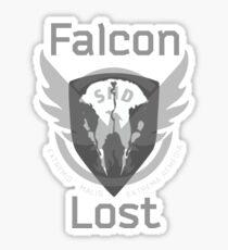 The Division Falcon Lost Sticker