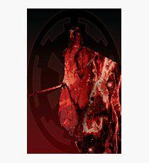Darth Vader Space Design Photographic Print