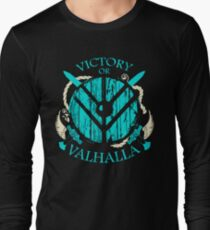 victory or valhalla - shieldmaiden - 2 Long Sleeve T-Shirt
