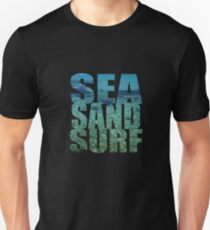 Sea Sand Surf Unisex T-Shirt