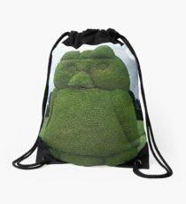 Tulcan Topiary Bird Drawstring Bag