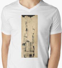 Egon Schiele - Standing Girl. Schiele - woman portrait. T-Shirt