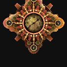 Infernal Steampunk Vintage Machine part No.1A by Steve Crompton