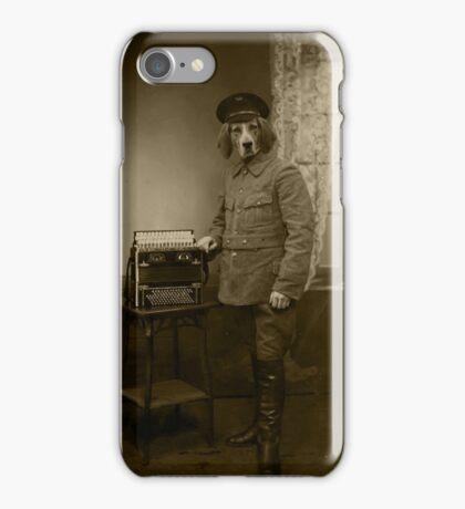 Old War Dog iPhone Case/Skin