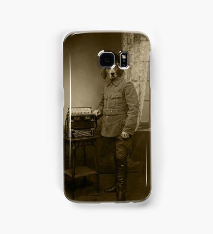 Old War Dog Samsung Galaxy Case/Skin