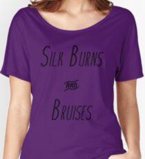 Silk Burns & Bruises Women's Relaxed Fit T-Shirt