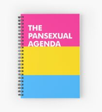 Pan Agenda Spiral Notebook