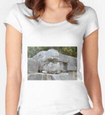 Lizard in Lizard Women's Fitted Scoop T-Shirt