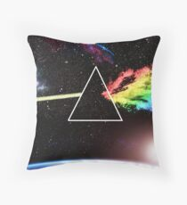 Pink Floyd Dark Side Throw Pillow