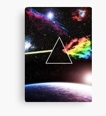 Pink Floyd Dark Side Canvas Print