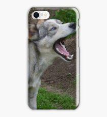 Waking Up Yawning iPhone Case/Skin