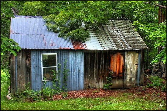 Backstreet Woodshed by Wayne King