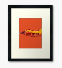 """""""Still Flying"""" - Joss Whedon's Serenity - Dark Framed Print"""