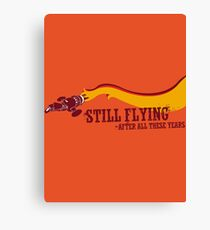 """Still Flying"" - Joss Whedon's Serenity - Dark Canvas Print"