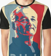 Bill Murray, Obama Hope Poster Graphic T-Shirt